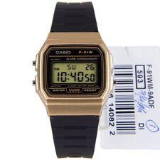 Casio F-91WM-9A F91WM Digital Alarm Chronograph Black Resin Bracelet Mens Watch