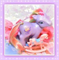 ❤️My Little Pony G3 Rainbow Swirl I Purple Sparkle Pony DIVA Pose Sherbet❤️