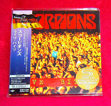 Scorpions Live Bites JAPAN SHM MINI LP CD UICY-94519