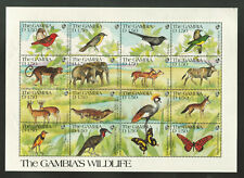 Gambia - The Gambia's Wildlife Sheetlet #3510