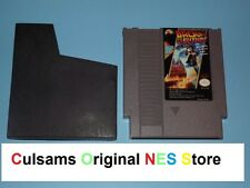 Original Nintendo Nes Back To The Future Game & Sleeve With Guarantee