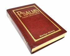 1997 PSALMS - CLASSIC LIBRARY EDITION MARILYN HICKEY HARDCOVER BOOK AUTOGRAPHED