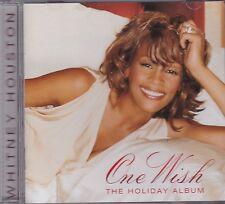 WHITNEY HOUSTON - ONE WISH - THE HOLIDAY ALBUM on CD - NEW
