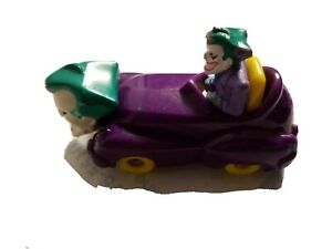 McDonald's Happy Meal Toy 1993 DC Batman The Animated Series Joker Mobile Car