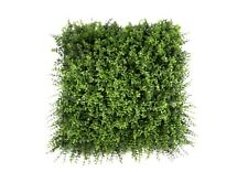 Artificial Eucalyptus Leaf Hedge Wall Panels Vertical Garden 50cm x 50cm Anti-UV