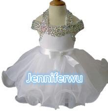 High glitz national Infant/toddler/baby/children/kids Girl's pageantDressG081D