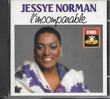JESSYE NORMAN - L'incomparable CD Album 12TR Opera 1987 EMI FRANCE RARE!!