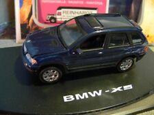 1/43 Anson BMW X5 dunkelblau 80808 Deckel der Box mit Riss