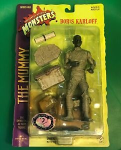 Universal Studio Monsters The Mummy figure Boris Karloff SIDE SHOW Toys Horror