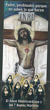 Holy card Martires Guerra Civil Española estampa santino image pieuse