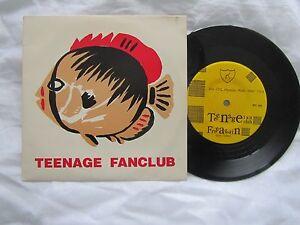"Teenage Fanclub 7"" Free again/ Bad Seeds 1992 USA IPU press IPU 26 Nr Mint"