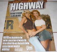 STORMY DANIELS JESSICA DRAKE Rare Wicked Pictures HIGHWAY Poster!