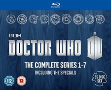 Doctor Who: The Complete Box Set - Series 1-7 (DVD)