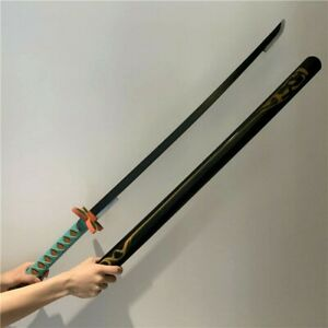 Japanese Fictional Kochou Shinobu Handmade Demon Slayer Half Blade  Katana Sword