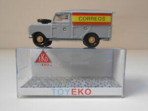 COCHE LAND ROVER CORREOS 1/87 HO TOYEKO EKO 1:87 CARTERO ROYAL MAIL CAR 2127C