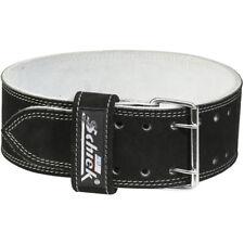 Schiek Sports Model 6010 Leather Competition Power Lifting Belt - Black