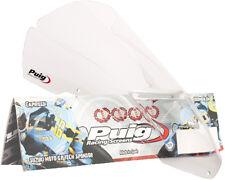 06-10 Aprilia Tuono 1000 R Puig Racing Windscreen, Clear  4110W
