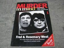 Murder in Mind Magazine No 1 - Fred and Rosemary West