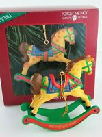 American Greetings Rocking Horse Christmas Ornament 1998 in Box