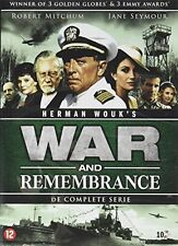 War And Remembrance - The Complete Miniseries  10 Disc Set  PAL  Dutch Import