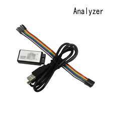 USB Logic Analyzer Device Set USB Cable 24MHz 8CH ARM FPGA Debugging Tool