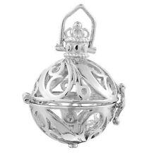 1 Schutzengel Käfig Charm Metall Anhänger Pendants für 18mm Bola Harmonie Ball