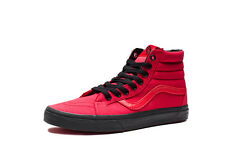 VANS Sk8 Hi Reissue Racing Red Black Men's Size 11 Skateboarding New Sk8