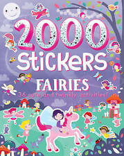 2000 Stickers - Fairies: 36 Cute and Twinkly Activities