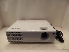ACER P1340W DLP PROJECTOR QWX1110 HDMI 3D-READY HD-READY WHITE GLOSSY DUAL VGA