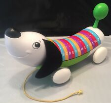 Leap Frog Alpha Pup Abc Alphabet Electronic Interactive Weiner Dog