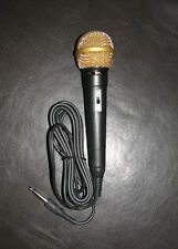 JVC Dynamic Karaoke Microphone PEAC 0395 Music Singing PL connector 1/4 PL