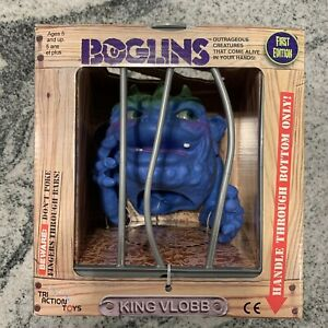 """New Boglins King Vlobb TriAction Toys 8"""" Collectible Figure"""