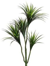 One 42 inch Outdoor Artificial Dracaena Palm Tree Fake Faux Yucca 3 5 4 2 Patio