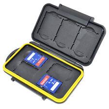 Caisson Boîte Etanche de Protection pour Carte Mémoire 4x SD et 3x XQD