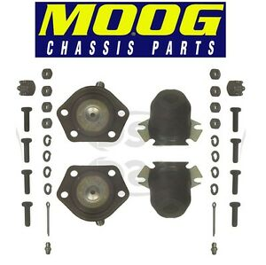 For Chevrolet G20 GMC C15 Suburban Set of 2 Front Upper Ball Joints MOOG K6136