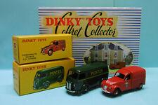 Dinky Toys / Atlas Coffret SERVICES PUBLICS Citroën 2 CV + Peugeot postal 25 B.D