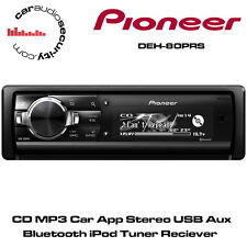Pioneer DEH-80PRS CD MP3 Car App Stereo USB Aux Bluetooth iPod Tuner Reciever