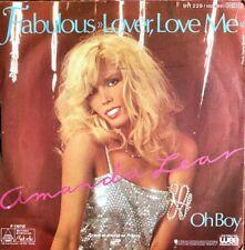 "Amanda Lear - Fabulous ""Lover, Love Me"" - Vinyl 7"" 45T (Single)"