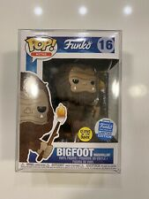 Funko Pop! Myths Bigfoot with Glow Marshmallow Stick #16 Funko Shop Exclusive