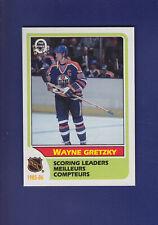 Wayne Gretzky Scoring Leaders HOF 1986-87 O-PEE-CHEE OPC Hockey #260 (MINT)
