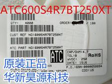 50pcs ATC 600S4R7BT250XT CAP CER 4.7PF 250V NP0 0603 RF Microwave High Q MLCC
