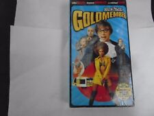 Austin Powers: Goldmember VHS NEW Mike Meyers, Beyonce Knowles, Michael Caine
