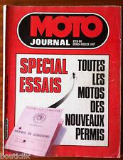Moto Revue HS de l'été 80; Spécial Essaus, toutes les motos des nouveaux permis