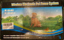 New listing Focuser Wireless Electronic Pet Fence System Kd661C- 1 Collar Reciever