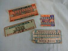 Vintage Newey's Haberdashery Brass Hooks & Eyes
