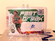 Romeo Langford Mosaic fast break auto + 7 other Rookie base Boston Celtics Read