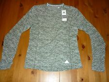 ADIDAS CLIMALITE RUNNING LONG SLEEVE SIZE MEDIUM UK 12-14 BNWT