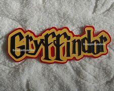 UNIVERSAL STUDIOS Harry Potter - GRYFFINDOR Die Cut Title - SSFFDeb