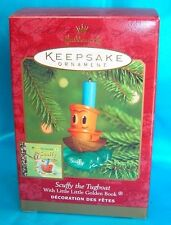 Hallmark Ornament 2000 Scuffy The Tugboat-With Little Little Golden Book