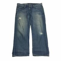 AG Adriano Goldschmied Women's The Ex-Boyfriend Crop Denim Jeans Size 31